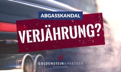 Verjährung im VW-Abgasskandal
