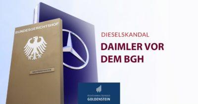 Dieselskandal – Daimler vor dem BGH Headerbild