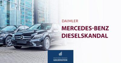 Mercedes-Benz im Dieselskandal Headerbild